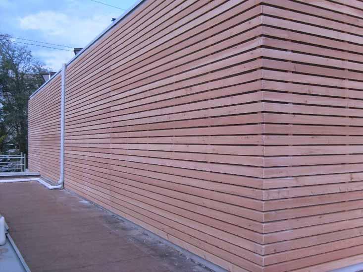 Rivestimento In Legno Per Facciate : Pannelli in legno per rivestimenti esterni: rivestire la facciata
