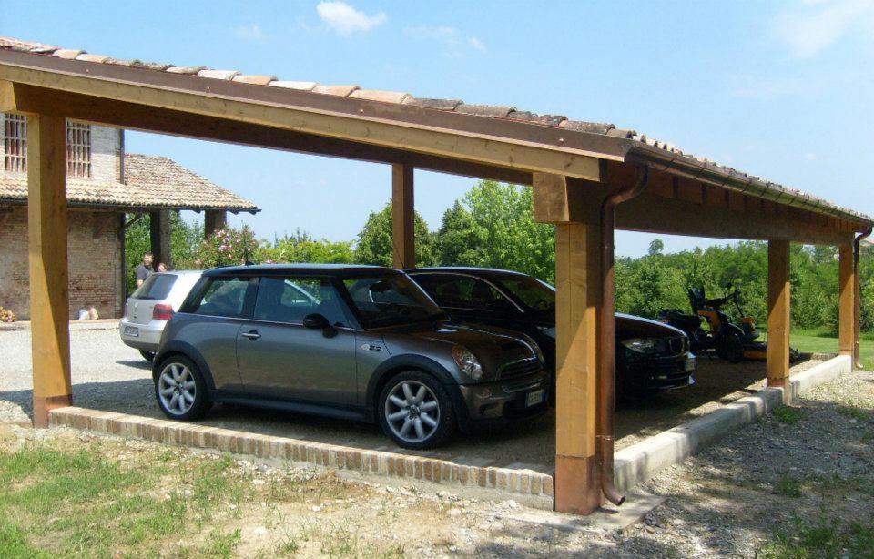 Colegno s n c dei fratelli corr preferiamo il legno for Kit per posto auto coperto